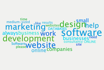 Online marketing and software development - Sussex